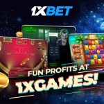 Win Cashback Bonuses, Jackpots, and More with 1xGames