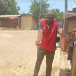 Photos: John Dumelo Constructs Water Access Points for Residents In His Constituency