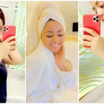 Too Much Money: Regina Daniels Shares Video Of Her Luxurious Bathroom Using Her iPhone 11 Pro Max