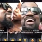 Watch This Lovely Video Of Titi Sarkcess Teasing Her Dad Sarkodie, On A Live Chat With A Friend – Video