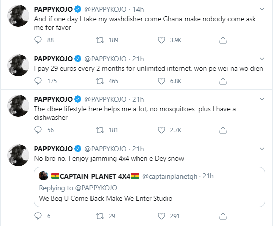 Pappy Kojo gives reasons why he will not Return To Ghana again 2