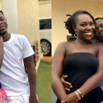 Video of Shatta Wale having a good time with Ebony's lookalike in his car pops up