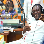 Captain Smart Officially Resigns From Adom FM, See The Beautiful Cake His Colleagues Made For Him