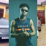 Check Out The Fleet Of Cars Displayed By Kuami Eugene In His House