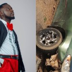 Comic Actor, Lawyer Nti Escapes Ghastly Accident- Photo