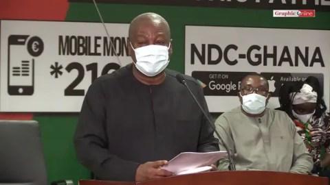 'NDC is Shocked'- John Dramani Mahama Breaks Silence On Supreme Court Ruling