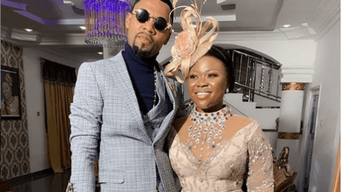 Power Couple: Rev Obofour And Wife Tease Each Other With A Kiss In New Video