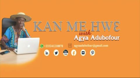 "Blogger Adu Sarpeah And Bureau of Ghana Languages Rekindle Ghanaian Language With A New Show Dubbed ""Kan Me Hwɛ"""