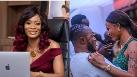 Keche Andrew Shows How Madly, He Is In Love With His Wife, Joanna Cudjoe