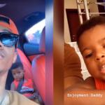Kidi's Reaction After His Son Called Him 'Enjoyment Daddy' Is Just Blissful – Video
