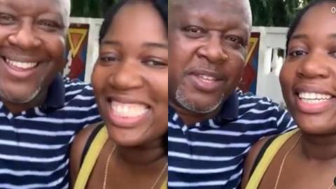Rare Video Of Kwame Sefa Kayi And His Daughter In Their Elements Hit The As He Celebrates His Birthday