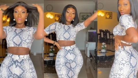 Wendy Shay Gives Fans Some Hot 'Sauce' As She Flaunts Her Assets With Her 'Seductive Powers'