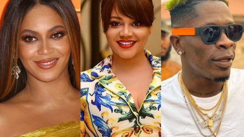 Nadia Buari Deletes Her Post On Beyoncé And Shatta Wale's Already Video.