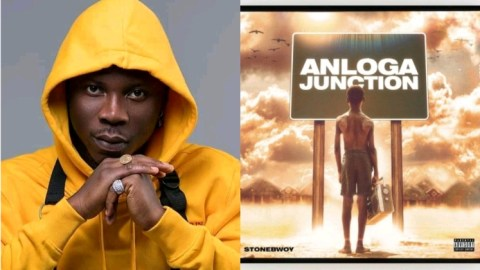 Stonebwoy Celebrates His Album, Anloga Junction Hitting 20 Million Streams On Audiomack