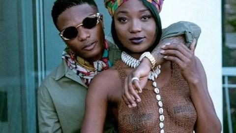 Wizkid Goes Into Love Mood After Seeing Efya Twist Her Waist Seductively