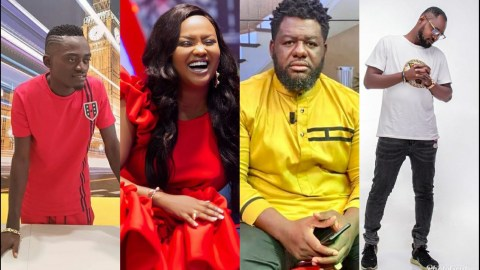 Funny Face And Lilwin Finally Make Peace After Bulldog And Nana Ama Mcbrown Intervened (+Video)