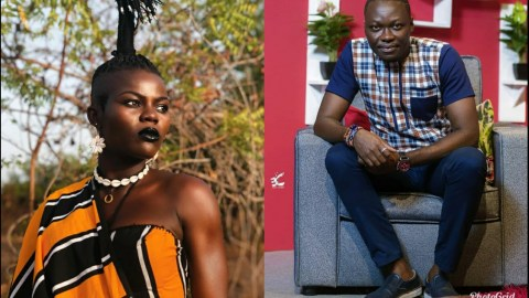 (VIDEO) If You Can't Stand My Comments About You, Take Me To Court! – Arnold Asamoah Dares Wiyaala