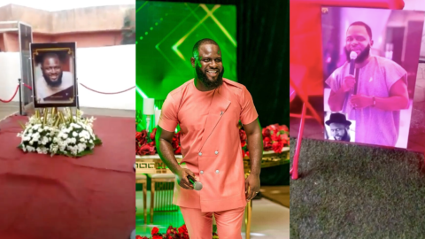 Scenes From The Funeral Service Of The Late Kwadwo Wiafe(Video)