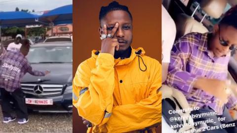 Kelvyn Boy Pampers Himself And Gets A New Benz, And A Honda For His Boys – Video