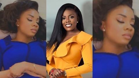 Nana Aba Anamoah Pulls A Fast One On Serwaa Amihere While Sleeping
