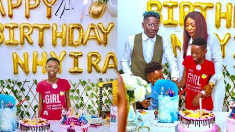 Unseen Photos From Shatta Wale's Daughter's Cute And Sweet Birthday Party