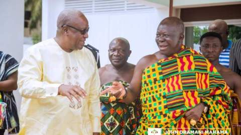 Confess Your Wrongs To Ghanaians And Correct Your Wrongs – Otumfuor Urges Mahama