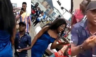 The Embarrassing Moment When A Lady Turned Down The Proposal Of Her Boyfriend In The Middle Of A Street
