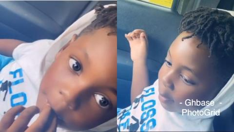 """I Don't Need To Go To Church Because God Lives In Me"" – Shatta Wale's Son Talks About The Importance Of God In His Life In A Video"