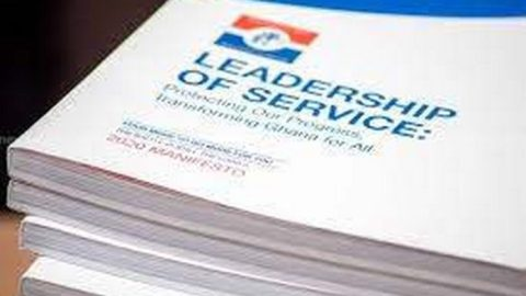 Full Document: NPP's 2020 Manifesto