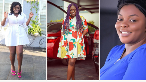 """Stop Blackmailing Mahama, He's Not The Father Of Your Child""""— Gloria Kani Comes For Tracey Boakye Again(Video)"""