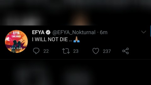 Efya replies Prophet Nigel Gaise over death prophecy