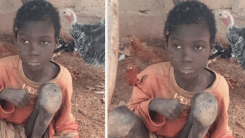 Boy chained and treated like an animal for two years by his stepmothers finally rescued (Videos)