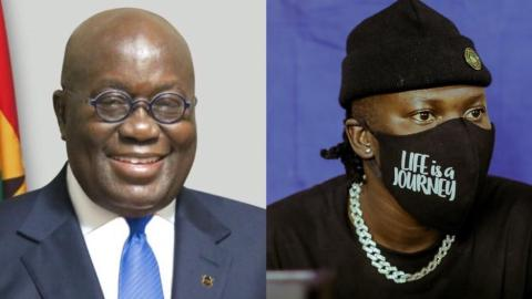 Nana Akufo Addo Also Sends Out Congratulatory Message To Stonebwoy