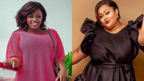 Tracey Boakye Clears Vivian Jill's Name, Describes Her Sugar Daddy's Other Sidechic, She Is Fighting