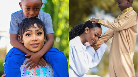 Akuapem Poloo Drives Fans Emotional With Adorable Video Of her Son.