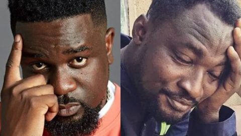 Sarkodie Calmly Denies Funny Face's Request For A Rap Lesson…​