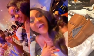 Davido takes fiancee, Chioma on an expensive dinner date (Video)