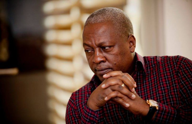 Natives of Akyem to stage a demonstration against Mahama for tagging some members of the gov't as 'Akyem Sakawa Boys.'