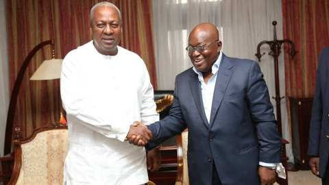 Apart from Free SHS, Akufo Addo has nothing to show Ghanaians as his achievement  – Mahama