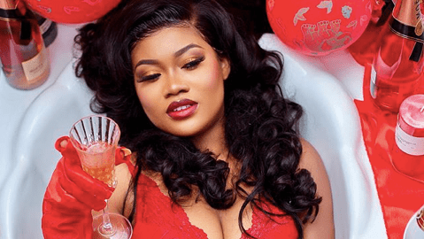 Actress Sandra Ababio Shows Skin In Hot Birthday Photos