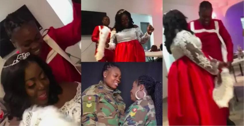 Two certified lesbians marry in Ghana