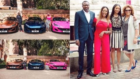 Nigerian Angrily Blasts Femi Otedola For wasting Money On His Daughters Instead Of Helping The Poor (+DETAILS)