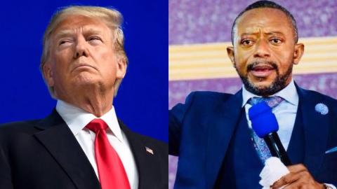"""God has informed me that Donald Trump will lose the US elections"" – Owusu Bempah makes U-turn"