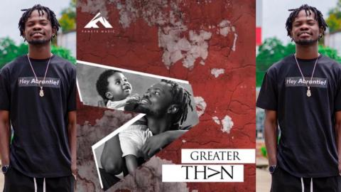 """I came from the streets and your support has brought me where I am today""– Fameye dedicates 'Greater Than' album to fans"