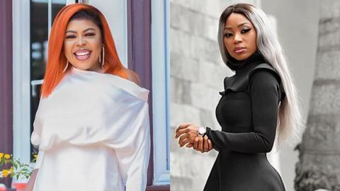 Afia Schwarzenegger used to beg Akuapem Poloo for slippers