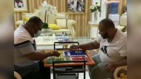 Archbishop Duncan Williams And Son Share A Lovely Moment As They Play An Indoor Game Together