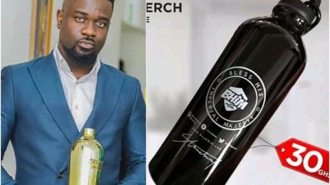 Is Stonebwoy Savagely Trolling Sarkodie? See A New 'Bhim Bottle' Ayigbe Mafia Just Introduced To The Market After Sarkodie Recieved A 'Bottle' Award