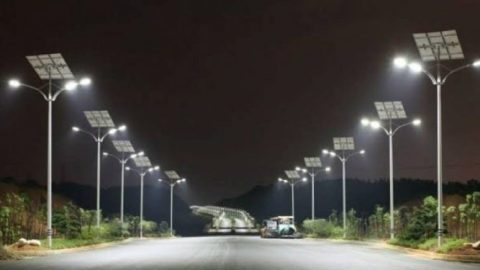 Gov't begins installation of 14,000 streetlights in Accra [Full List]
