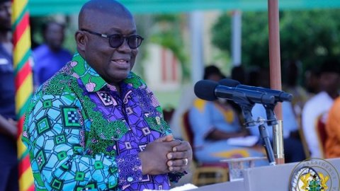 Prez Akufo-Addo submits nomination forms to EC ahead of election 2020