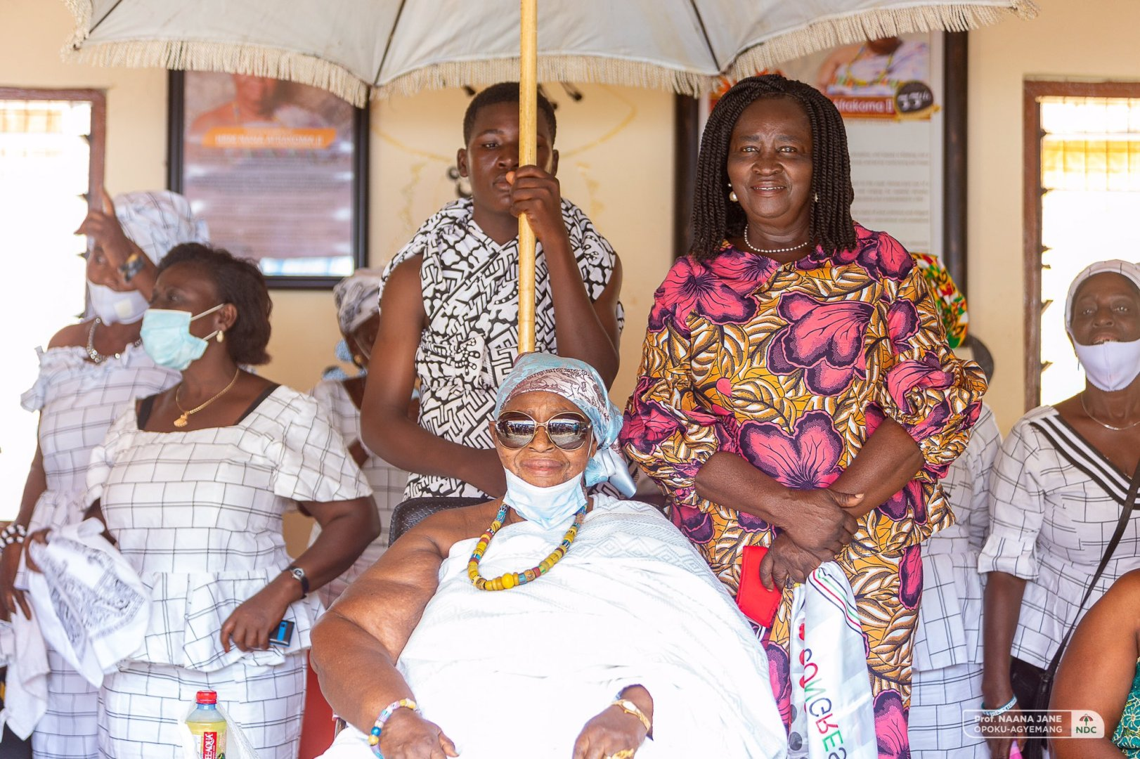 """""""We will support you with our witchcraft to ensure you win"""" – Queen mother assures NDC's running-mate"""